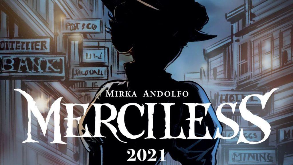 """""""MERCY"""" de Mirka Andolfo tendrá una secuela llamada """"MERCILESS"""""""