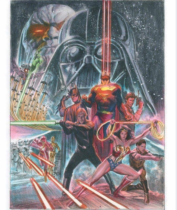 crossover star wars dc comics